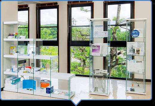 糖尿病に関する展示室