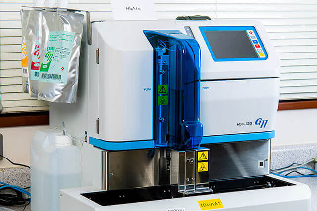 HbA1c 機械